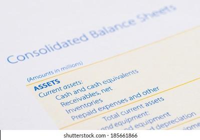 asset on the balance sheet