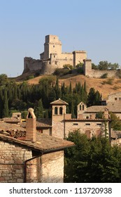 Assis castle, Umbria, Italy