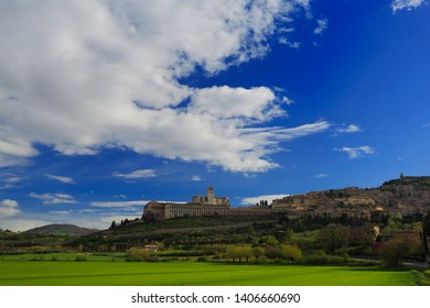 Assisi, city of Saint Francis, Italy