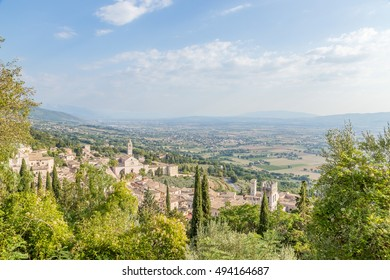 Assisi, Italy. View of the city