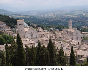 Assisi is a nice village in the green. Houses are made of stone. The village is rich of churches. Assisi is the village of Saint Francis.