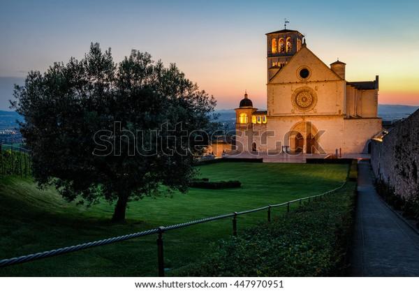 Assisi (Umbria) Basilica di San Francesco