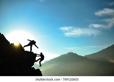 assistance, support and climbing