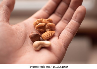 assorted cashews, walnuts, almonds and hazelnuts