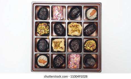 Assorted cookies for Hari Raya Aidil Fitri (Eid festival) celebration. Festive cookies