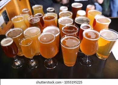Assorted Craft Beer Varieties