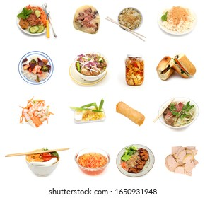 Cuisine vietnamienne quotidienne agrémentée