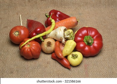 Assorted grocery products including vegetables fruits wine bread dairy and meat