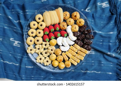 Assorted Indonesian specialty cookies for Eid al-Fitr (kue lebaran)