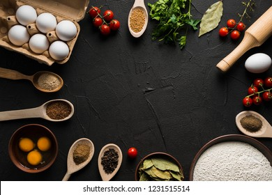 Assorted ingredient for cooking
