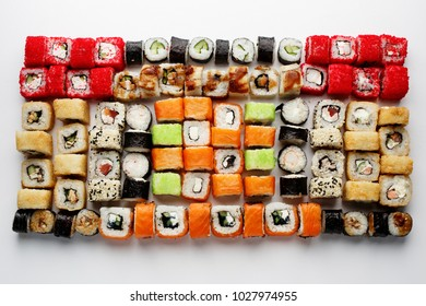 Assorted Japanese Rolls