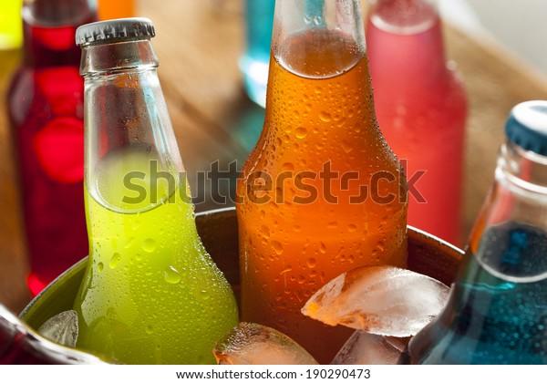 Organische Sodas aus Cannenzucker