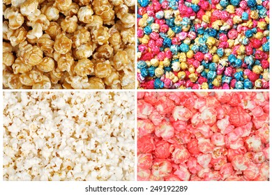Assorted popcorn