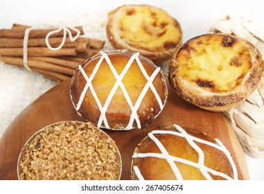 Assorted Portuguese Tarts