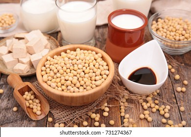 assorted soy product