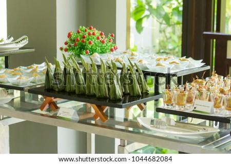 Assorted Tapas Asian Twist Traditional Thai Stock Photo Edit Now