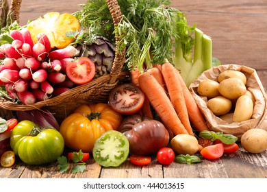 assorted vegetable