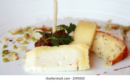 Assortment of Gourmet Cheese