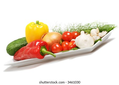 an assortment of mouth watering vegetables suitable for any table.