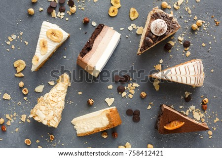 Assortment of pieces of