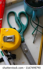 An Assortment of tools for a tradesperson