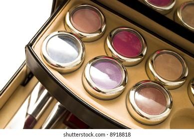 assortment of women's cosmetics