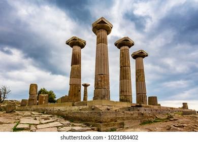 Assos Ancient City in Turkey