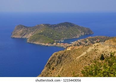 Assos, Kefalonia, Ionian sea, Greece