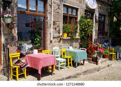 ASSOS, TURKEY - MAY 1, 2018 - 
