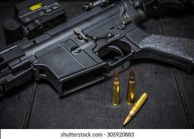 assult rifle AR15
