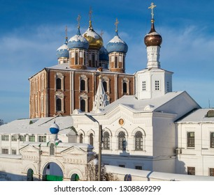 Assumption Cathedral 1699, Ryazan Kremlin, Ryazan, Russia December 2016