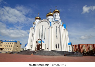 Assumption Cathedral in Astana,Kazakhstan