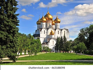 Assumption cathedral of the Russian orthodox church, Yaroslavl