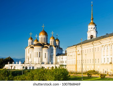 Assumption Cathedral in Vladimir. Golden Ring of Russia