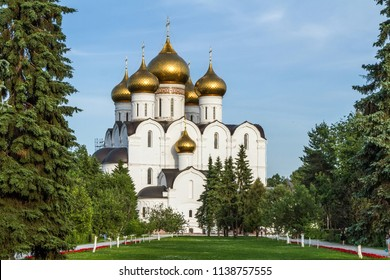 Assumption Cathedral in Yaroslavl, Golden Ring, Russia