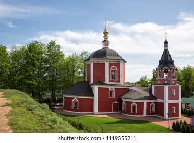 Assumption Church and Earthen Wall of Kremlin, Suzdal, Russia