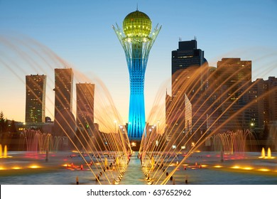Astana cityscape. Astana is the capital of Kazakhstan