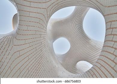 Astana, Kazakhstan - July 28, 2017: Expo Center in Astana