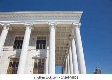 Astana, Kazakhstan - June 13, 2019: State Opera and Ballet Theater Astana Opera