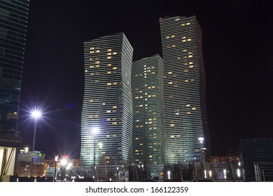 ASTANA, KAZAKHSTAN - NOV 27:Astana the capital of Kazakhstan,November 27, 2013, Astana, Kazakhstan.Astana With population of 708.794, is the first capital built in the 21st century
