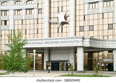 ASTANA, KAZAKHSTAN REPUBLIC - June 24, 2013: Astana. Eurasian Natural Resources Corporation