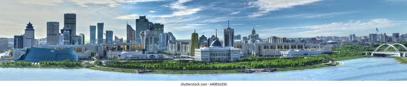 Astana panorama