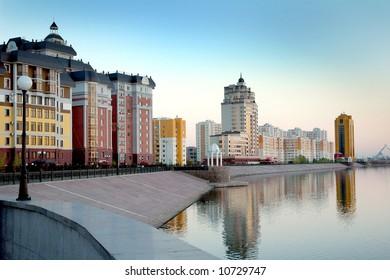 Astana, saved the rivers Ishim