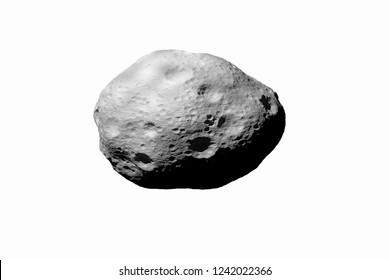 asteroides with white background