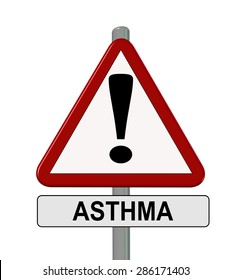 asthma sign
