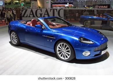 Aston Martin DB7 Zagato at Geneve Auto Salon 2004