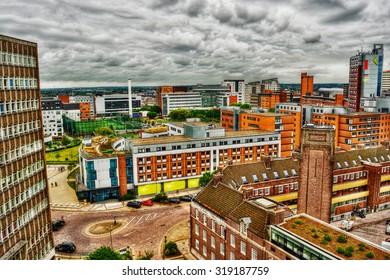 Aston University in Birmingham, HDR-technique