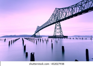 Astoria Megler Bridge, Columbia River, Washington and Oregon