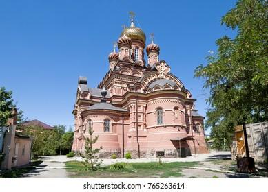 Astrakhan Ioanno-Predtechensky monastery