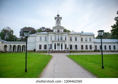 Astravas Manor in Astravas, Birzai, Lithuania. Astravas Manor is a manor in Birzai suburb Astravas, Lithuania. It was commissioned by Jan Tyszkewicz and was built in 1849 - 1862 in neoclassical style.